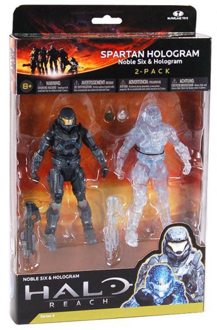 McFarlane Toys Halo Reach Series 4 Spartan Hologram Action Figure 2-Pack