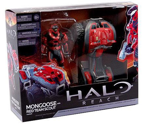 McFarlane Toys Halo Reach Multipacks Mongoose with Red Team Scout Spartan