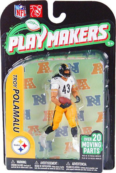 McFarlane Toys NFL Pittsburgh Steelers Playmakers Series 2 Extended Troy Polamalu Action Figure