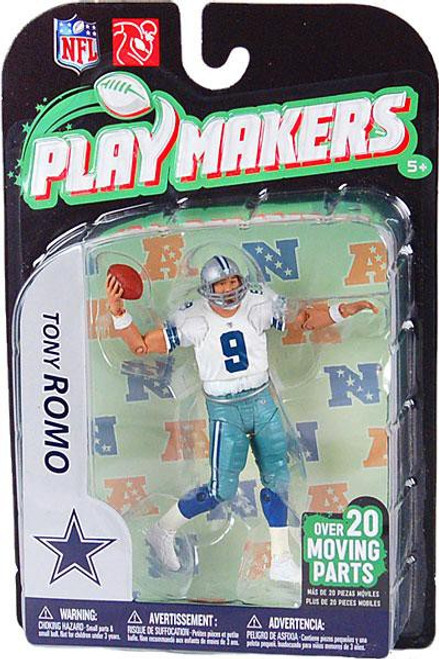 McFarlane Toys NFL Dallas Cowboys Playmakers Series 2 Extended Tony Romo Action Figure