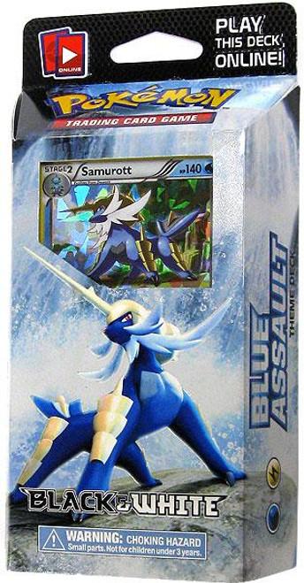 Pokemon Black & White Blue Assault Theme Deck [Sealed Deck]