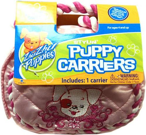 Zhu Zhu Pets Zhu Zhu Puppies Puppy Carriers Stylin' Puppy Carrier Accessory [Pink]