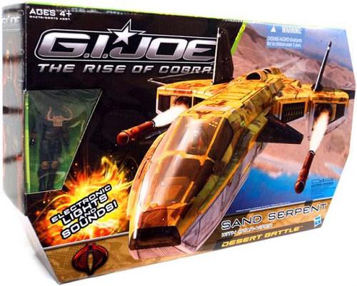 GI Joe The Rise of Cobra Sand Serpent Action Figure Vehicle