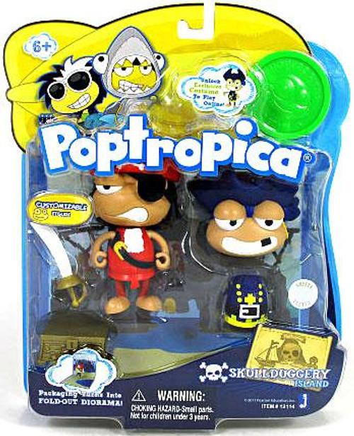 Poptropica Skull N Duggery 3-Inch Mini Figure 2-Pack
