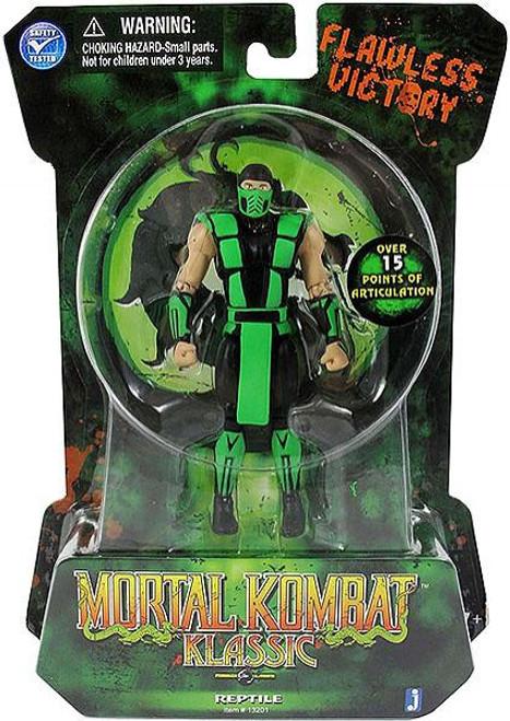 Mortal Kombat Klassic MK2 Reptile Action Figure