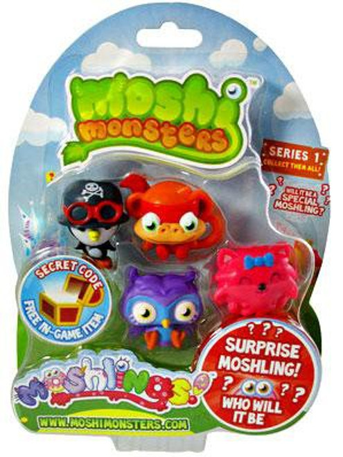 Moshi Monsters Moshlings Series 1 Mini Figure 5-Pack