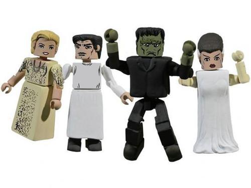 Universal Monsters MiniMates Frankenstein Minifigure 4-Pack