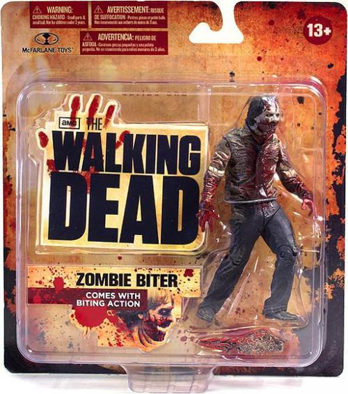 McFarlane Toys Walking Dead AMC TV Series 1 Zombie Biter Action Figure