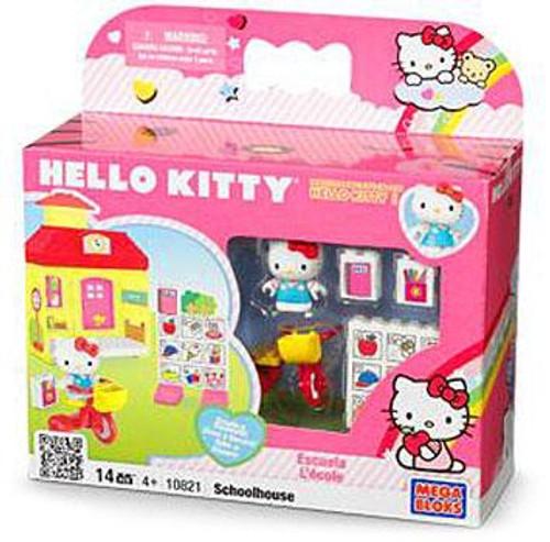 Mega Bloks Hello Kitty Create & Decorate Schoolhouse Set #10821
