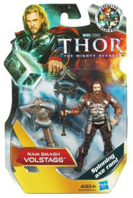 Thor The Mighty Avenger Volstagg Action Figure #10 [Ram Smash]