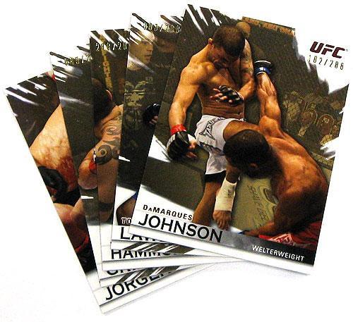 UFC 2010 Knockout Parallel Gold Parallel Base Single Card [#136 Kyle Noke]