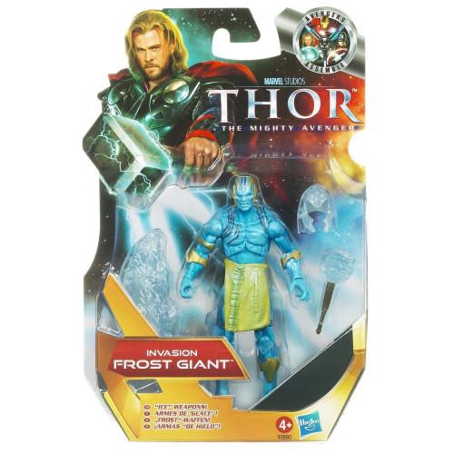 Thor The Mighty Avenger Frost Giant Action Figure #6 [Invasion]