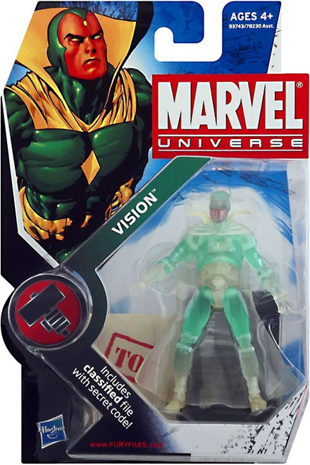 Marvel Universe Series 6 Vision Action Figure #6 [Phasing]
