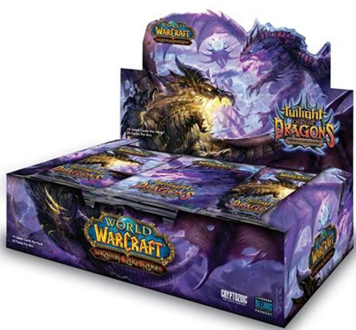World of Warcraft Trading Card Game Twilight of the Dragons Booster Box