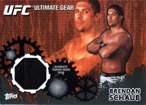 UFC 2010 Championship Onyx Ultimate Gear Relic Brendan Schaub UG-BS