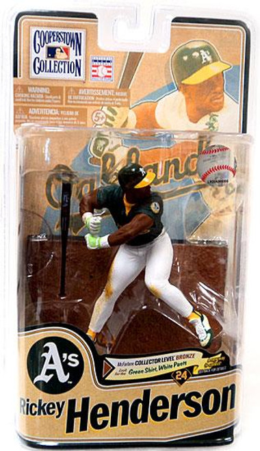 McFarlane Toys MLB Cooperstown Collection Series 8 Rickey Henderson Action Figure [Green Jersey]