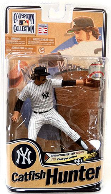 McFarlane Toys MLB Cooperstown Collection Series 8 Catfish Hunter Action Figure
