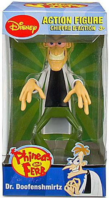 Disney Phineas and Ferb Dr. Doofenshmirtz Action Figure
