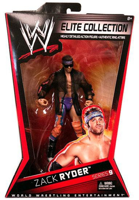 WWE Wrestling Elite Series 9 Zack Ryder Action Figure