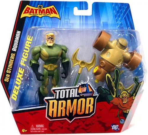Batman The Brave and the Bold Total Armor Aquaman Figure Set [Sea Stingers]