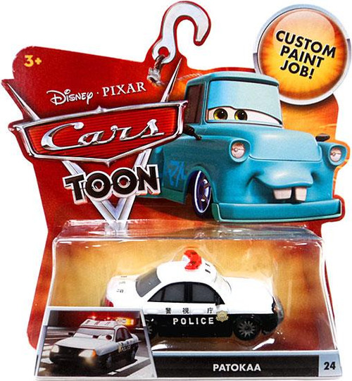 Disney Cars Cars Toon Main Series Patokaa Diecast Car #24