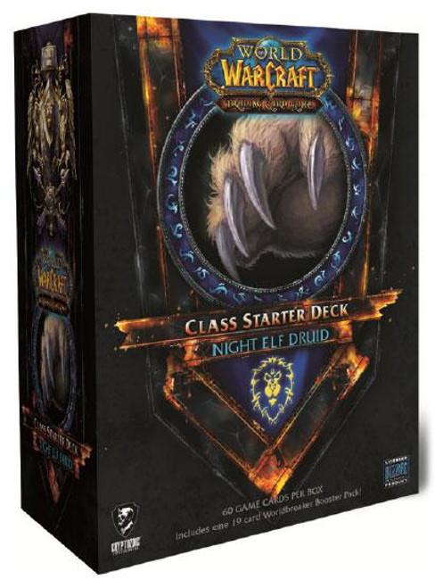 World of Warcraft Trading Card Game Summer 2011 Night Elf Druid Class Starter Deck [Alliance]