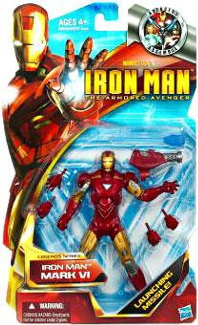 The Armored Avenger Legends Series 6 Iron Man Mark VI Action Figure