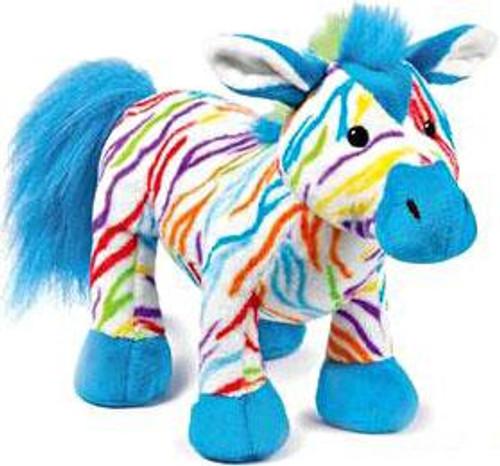 Webkinz Rainbow Zebra Plush
