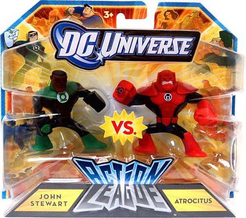 DC Universe Green Lantern Action League John Stewart Vs. Atrocitus 3-Inch Mini Figures