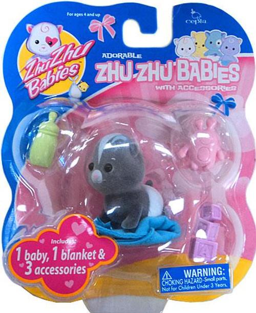 Zhu Zhu Pets Babies Tater-Tot Zhu Zhu Baby [Black]