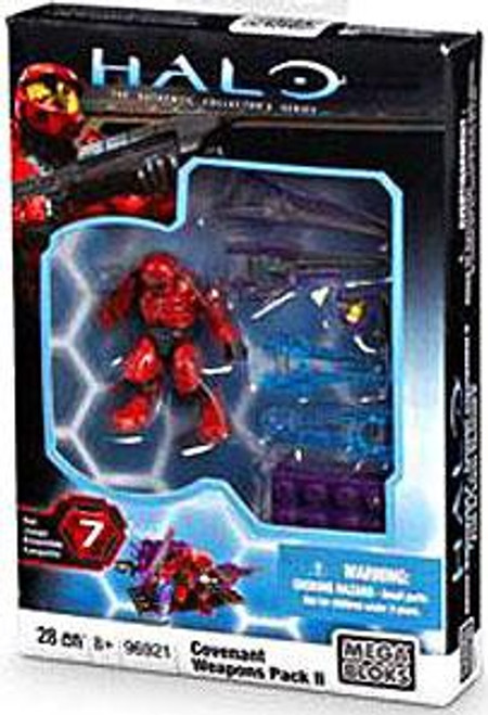 Mega Bloks Halo The Authentic Collector's Series Covenant Weapons Pack II Exclusive Set #96921