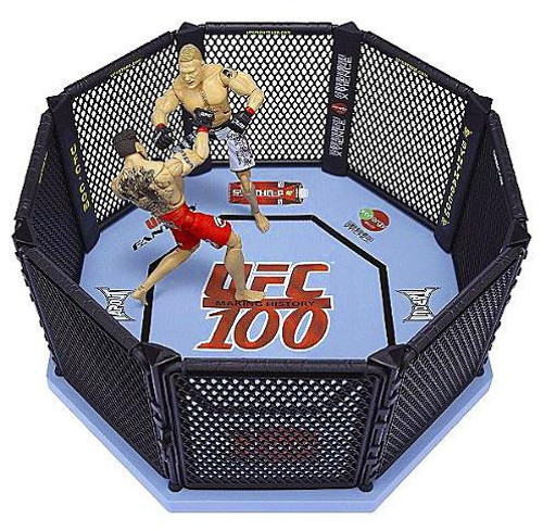 UFC 100 Octagon Ring Exclusive Action Figure Playset [Damaged Package]