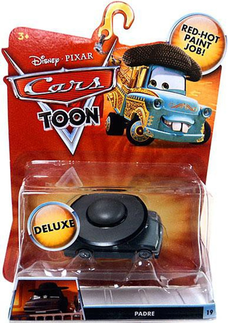 Disney Cars Cars Toon Deluxe Oversized Padre Diecast Car
