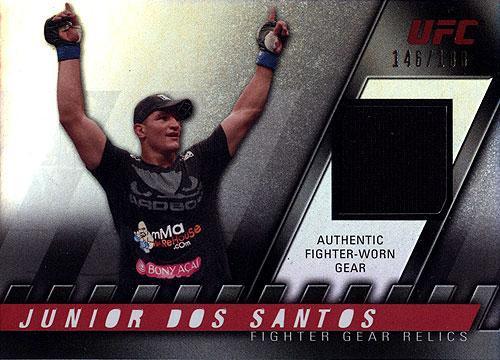 UFC 2010 Knockout Relic Junior Dos Santos FG-JDS
