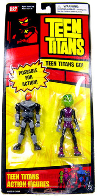 Teen Titans Go! Slade & Beast Boy Action Figure 2-Pack