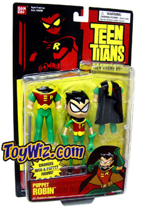 Teen Titans Go! Robin Action Figure [Transforming Puppet]