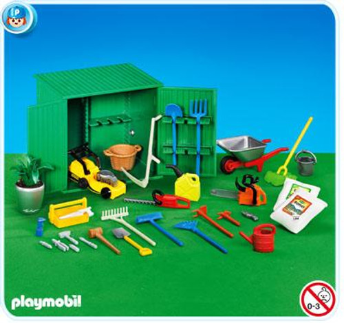 Playmobil Life In The City Shed with Tools Set #7490