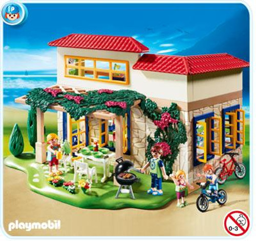 Playmobil Vacation & Leisure Summer House Set #4857