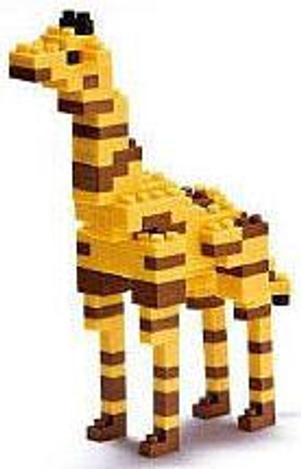 Nanoblock Micro-Sized Building Block Giraffe Figure Set