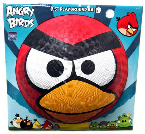 Angry Birds Red Bird 8.5-Inch Rubber Playground Ball