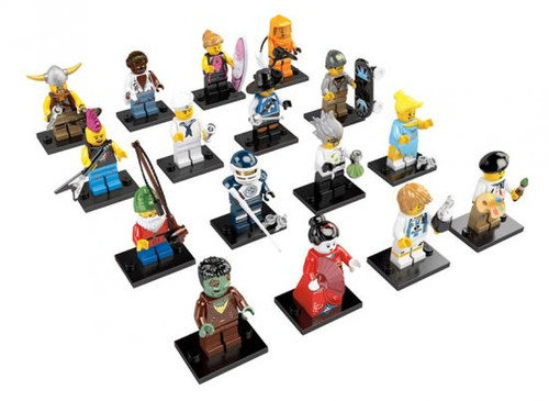 LEGO Minifigures Series 4 Set of 16 Minifigures [Loose]
