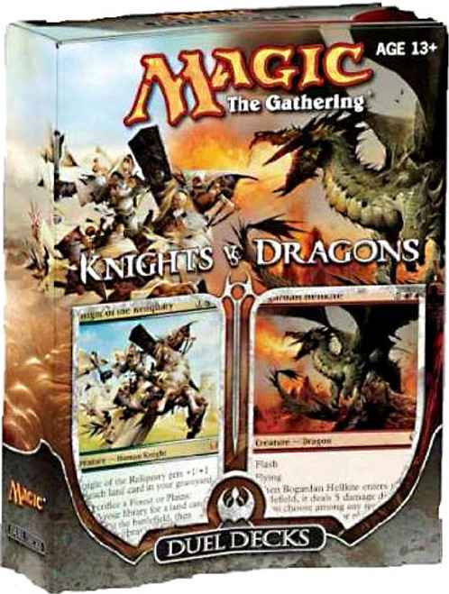 MtG Duel Decks: Knights vs. Dragons Knights vs. Dragons Duel Decks [Sealed]