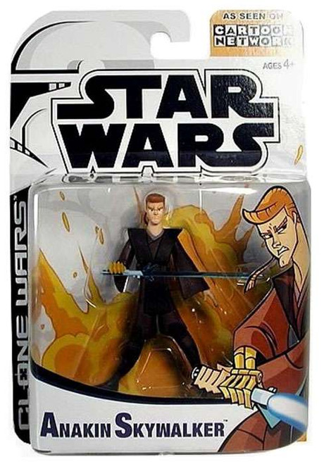 Star Wars The Clone Wars Clone Wars Cartoon Network Anakin Skywalker Action Figure