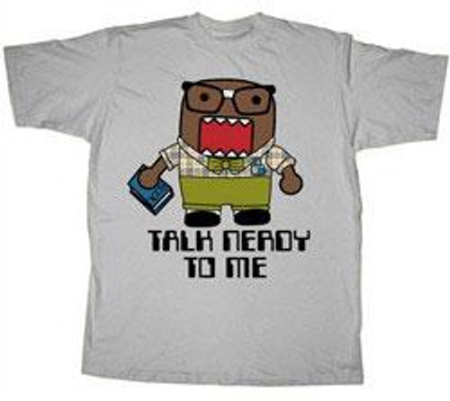 Domo Talk Nerdy T-Shirt [Adult]