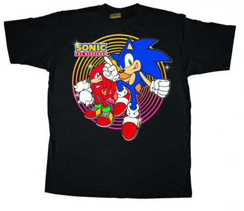 Sonic The Hedgehog The Heroes T-Shirt [Youth]