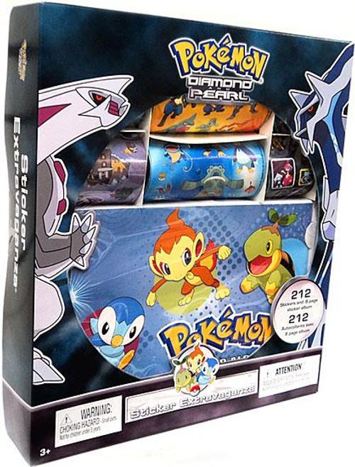 Diamond & Pearl Pokemon Sticker Extravaganza