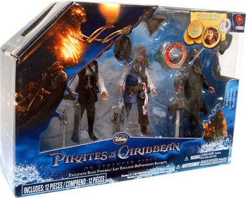Pirates of the Caribbean On Stranger Tides Angelica, Jack Sparrow & Blackbeard Exclusive Action Figure 3-Pack