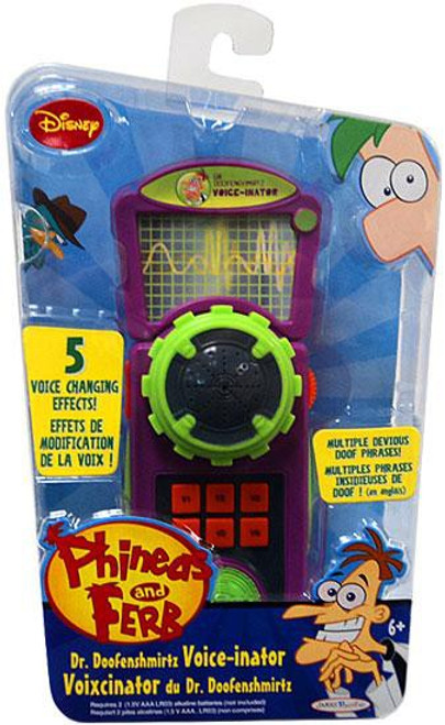 Disney Phineas and Ferb Dr. Doofenshmirtz Voice-inator Roleplay Toy