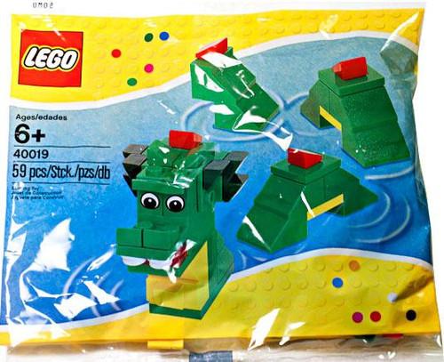 LEGO Brickley the Sea Serpent Mini Set #40019 [Bagged]