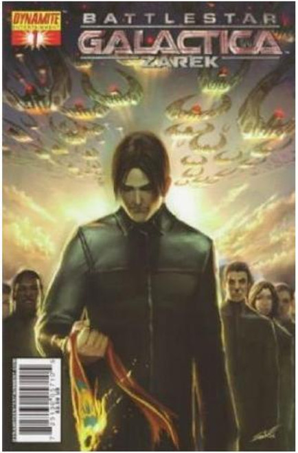 Battlestar Galactica: Zarek Comic Book #1 [Cover B]